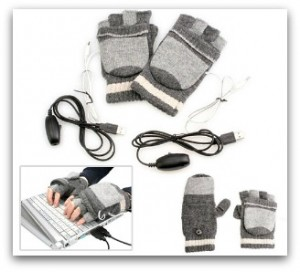 grey warming gloves home office
