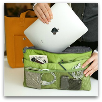 supply organizer iPad holder