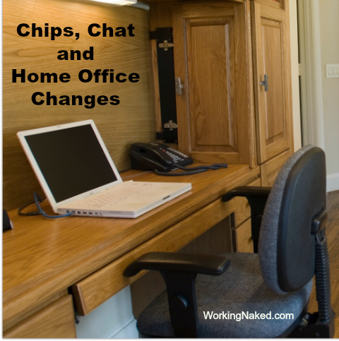 home office organize change