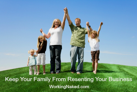 include family in home business