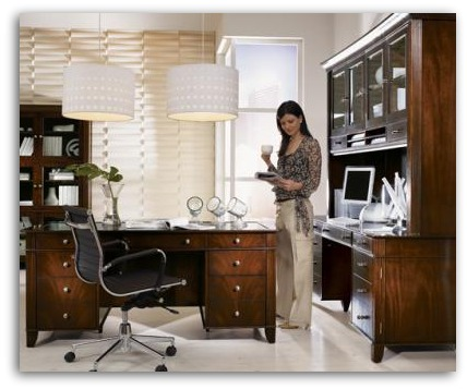Home Office Furniture Doesn t Have to be Expensive  By Lisa  Photo courtesy  of Sligh. Home Office Furniture Doesn t Have to be Expensive