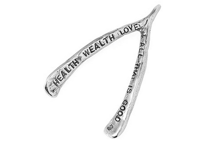 Wishbone paperweight homem office gift idea